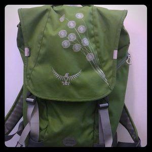 Osprey Flap Jill Backpack - Rare Green!